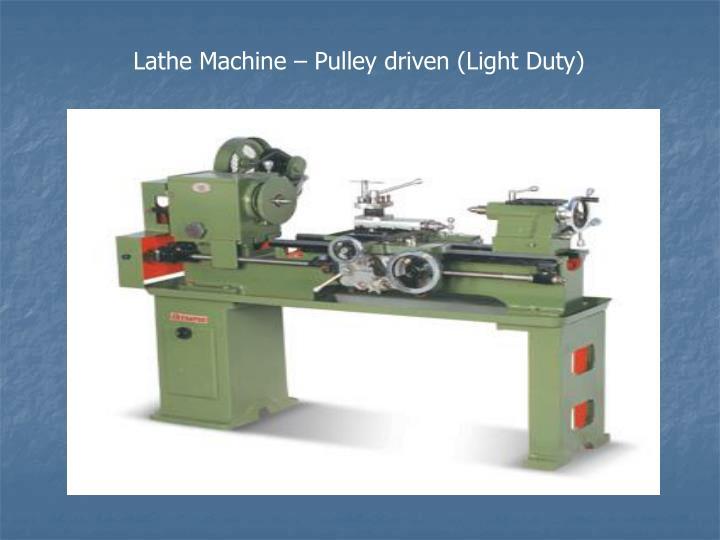 Ppt Lathe Machines Powerpoint Presentation Id 1117287