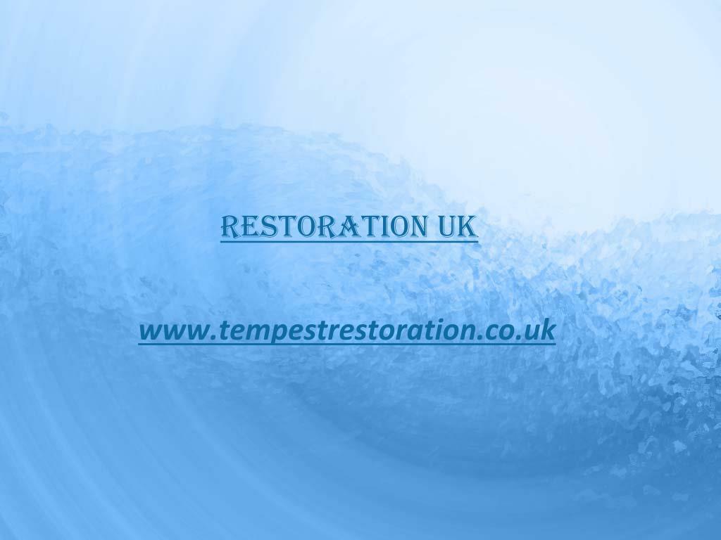 restoration uk l.