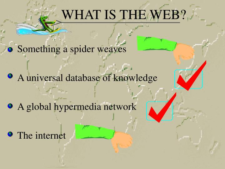 What is the web