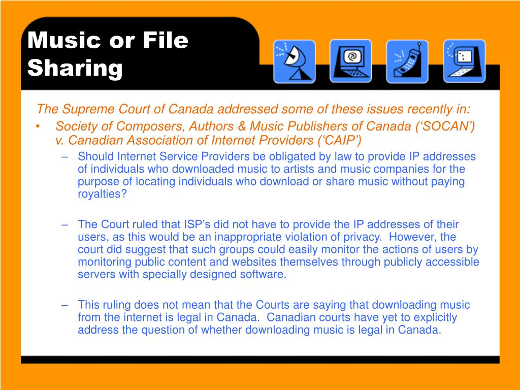 Music or File Sharing