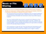 music or file sharing18