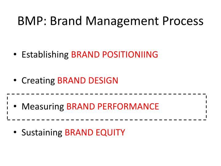 bmp brand management process n.
