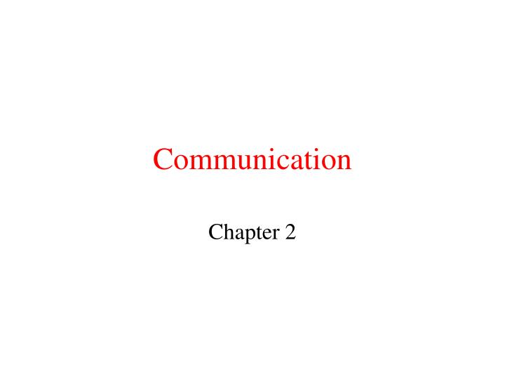 communication n.