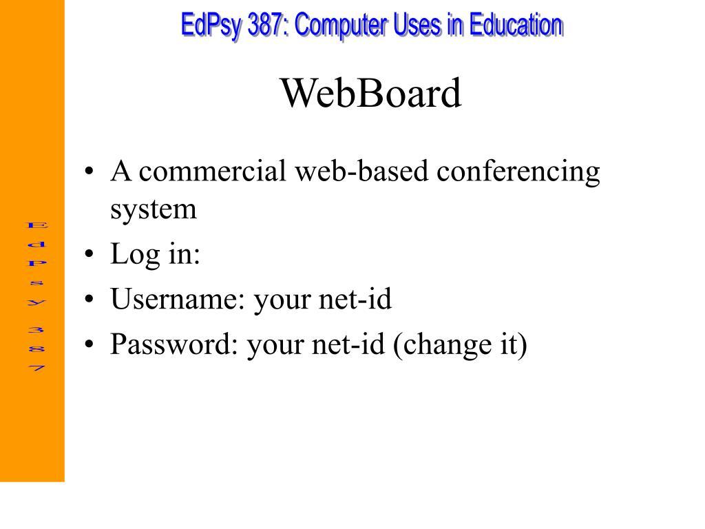 WebBoard