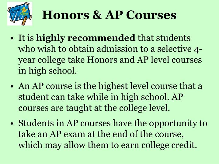 Honors & AP Courses