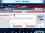 tier 2 journals