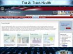 tier 2 track health
