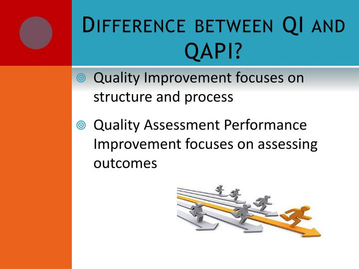Difference between QI and QAPI?