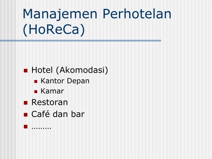 Hotel (Akomodasi)