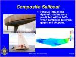 composite sailboat
