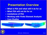 presentation overview