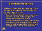 blending properties