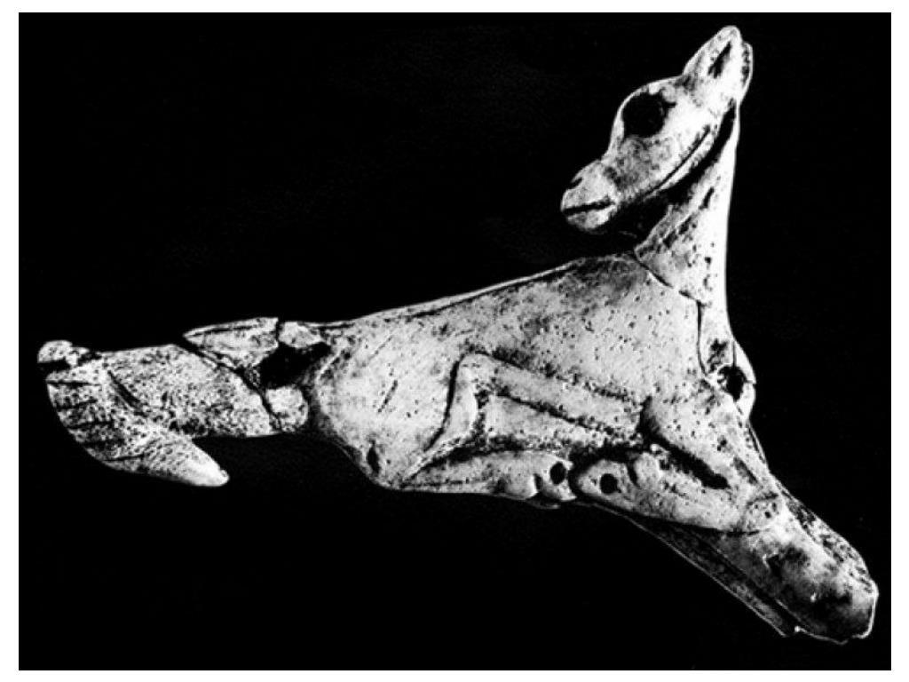 Magdelenian Spearthrower in shape of