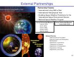external partnerships