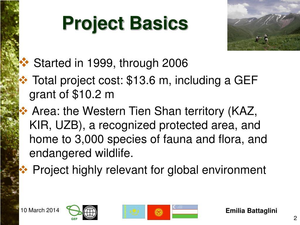 Project Basics