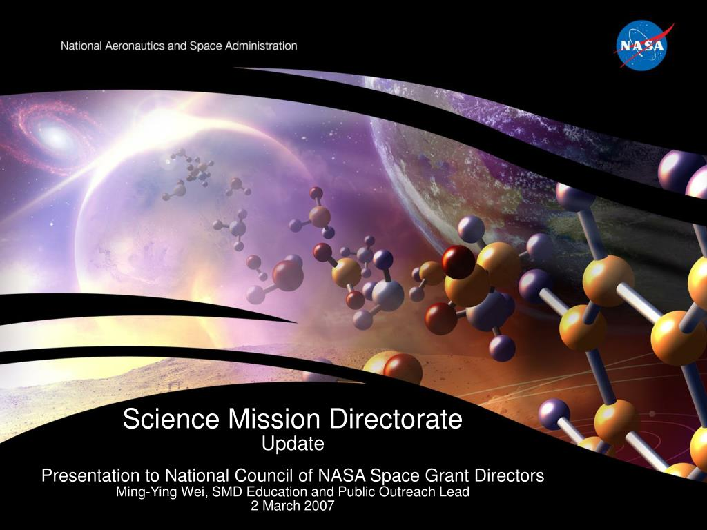 science mission directorate update l.