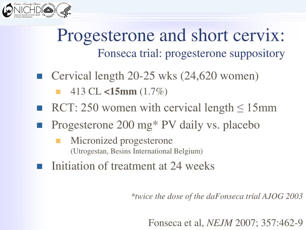 PPT - Progesterone Supplementation and Prevention of Preterm