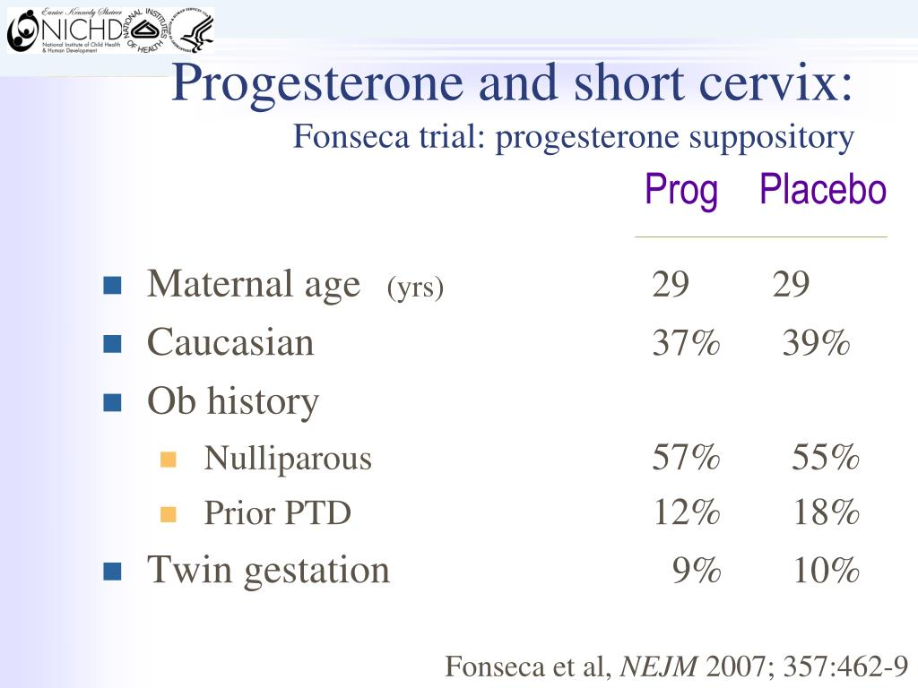 PPT - Progesterone Supplementation and Prevention of Preterm Birth