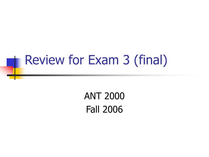exam 3 review fall 14 143 equations of lines & planes functions of several variables practice exam 3 (in lecture) stokes' theorem final exam review dec 12-18.