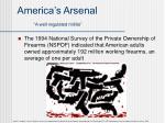america s arsenal a well regulated militia
