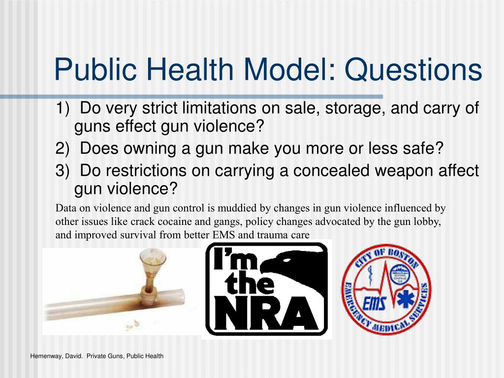 Public Health Model: Questions
