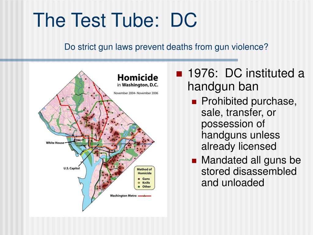 The Test Tube:  DC