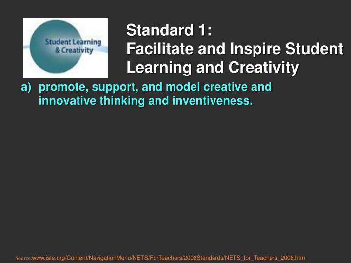Standard 1: