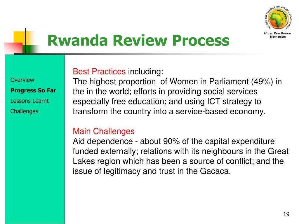 Rwanda Review Process