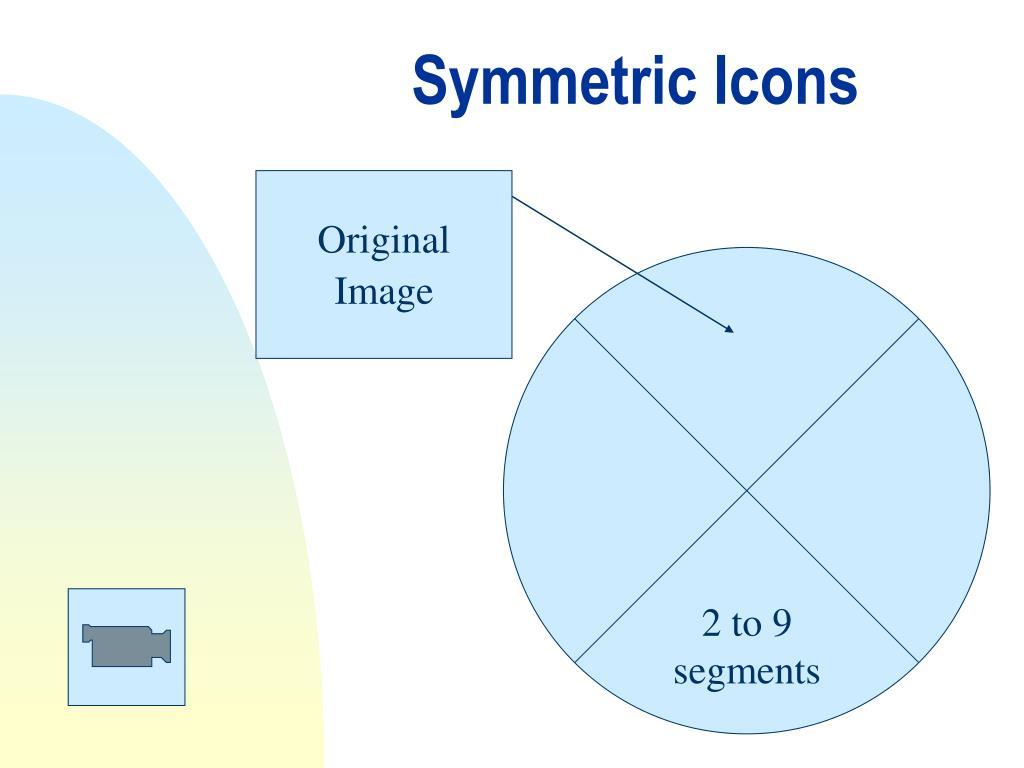 Symmetric Icons