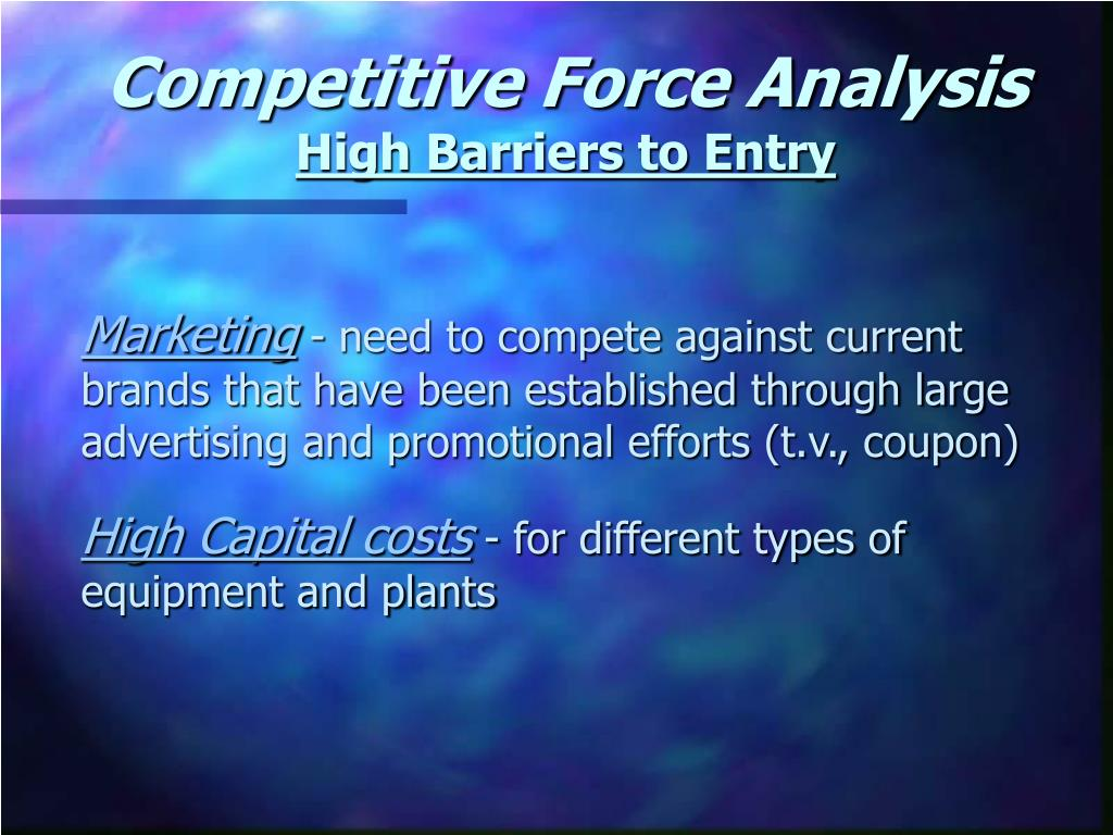 Competitive Force Analysis