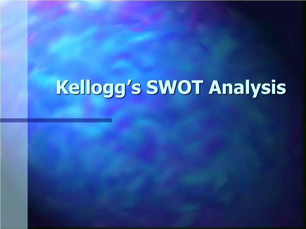 Kellogg's SWOT Analysis