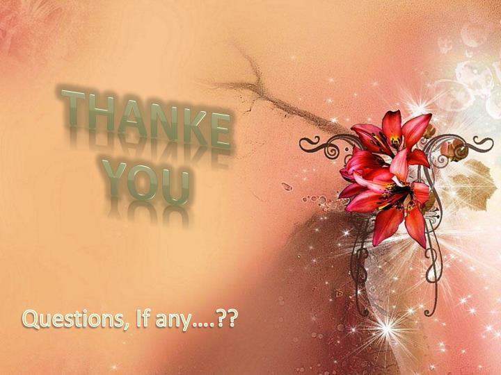 THANKE YOU