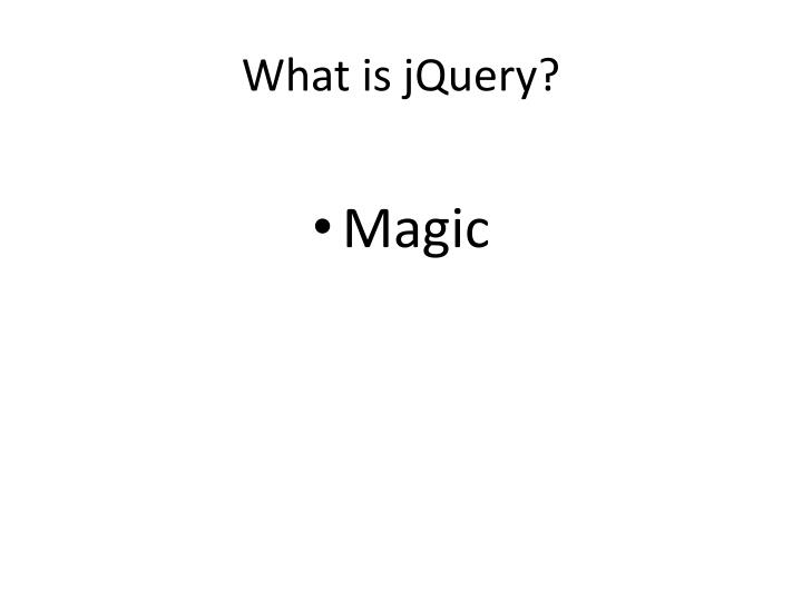 What is jquery3