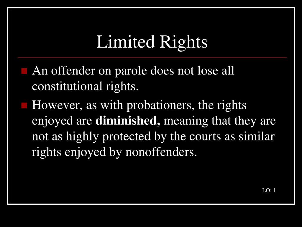Limited Rights