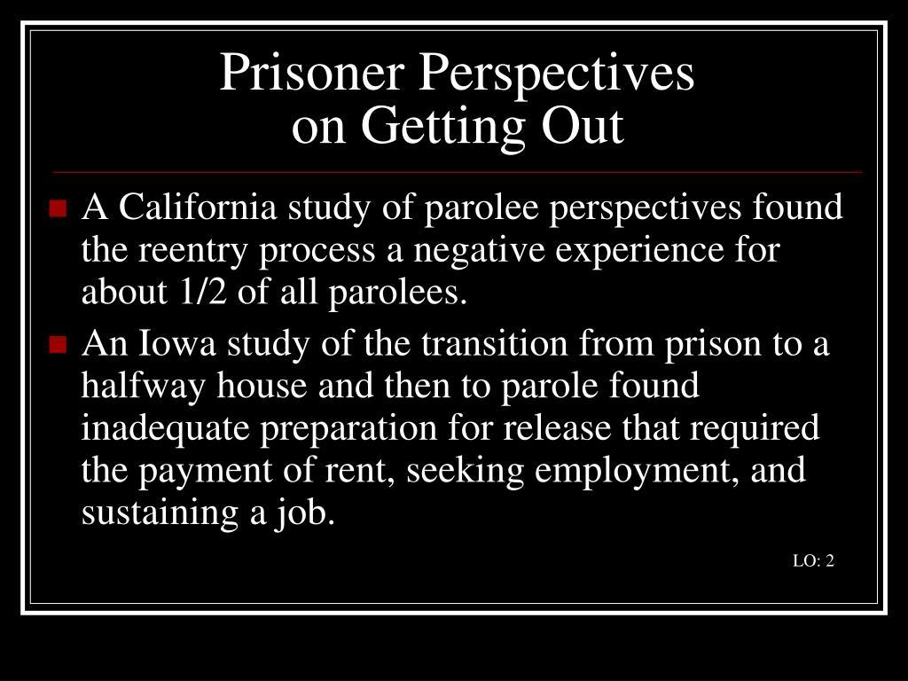Prisoner Perspectives