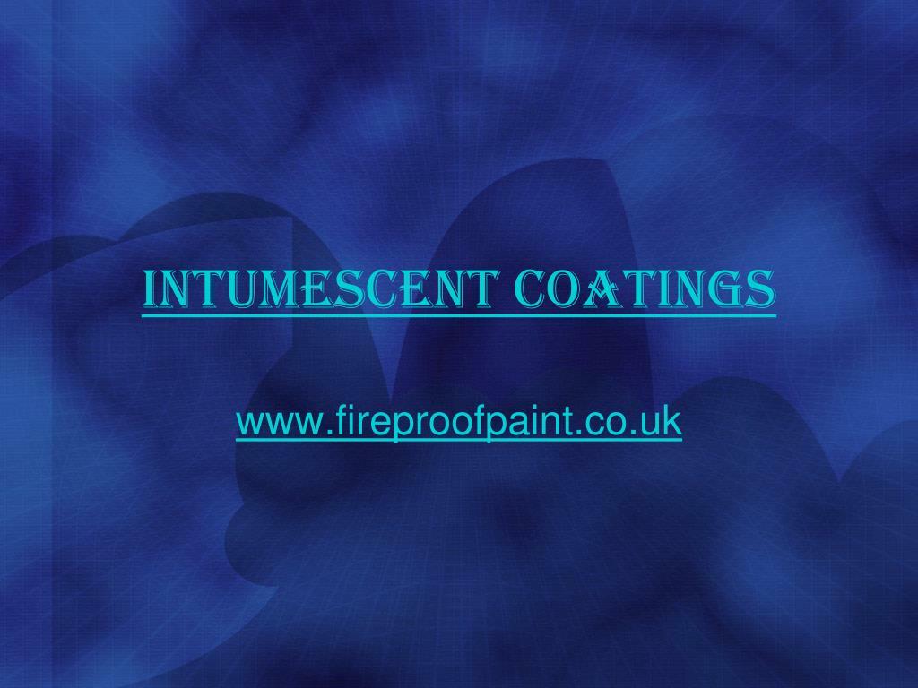 intumescent coatings l.