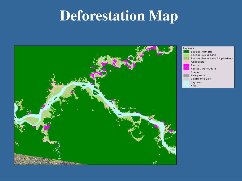Deforestation Map
