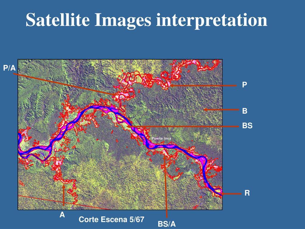 Satellite Images interpretation