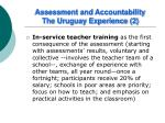 assessment and accountability the uruguay experience 2