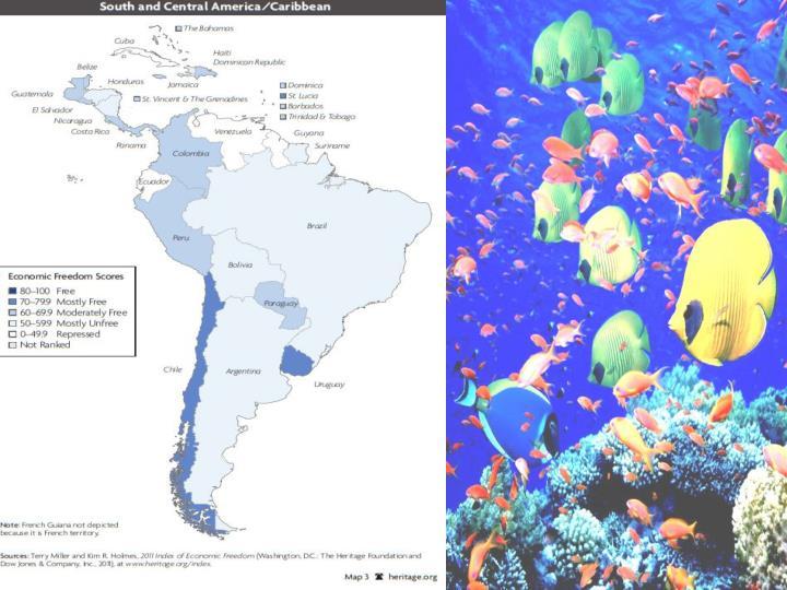 Južna i Centralna Amerika (Karibi)