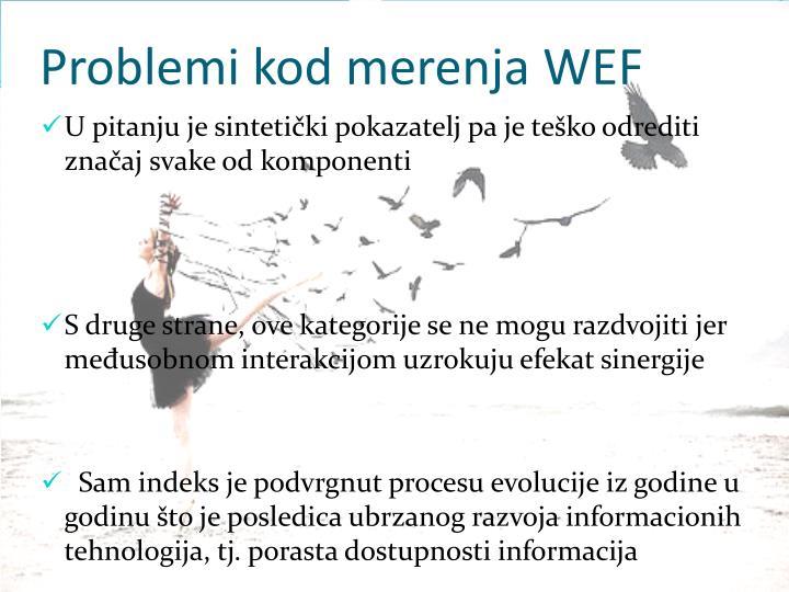 Problemi kod merenja WEF