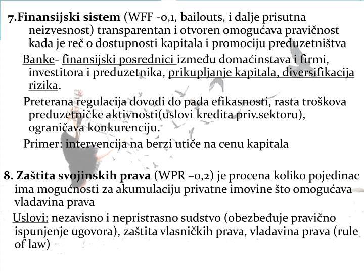 7.Finansijski sistem