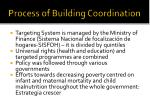 process of building coordination4