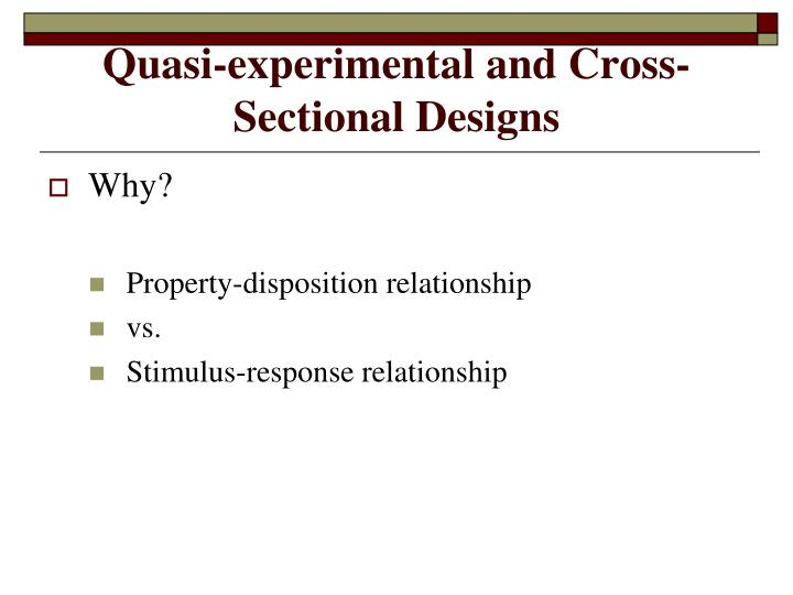 ecological and cross sectional design Studies, cross-sectional, and case-control studies as the sources of the measures we examined, but the study designs themselves were secondary to our interest in the present chapter we will define.