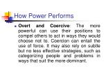 how power performs41