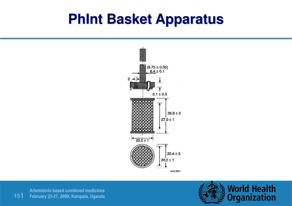 PhInt Basket Apparatus