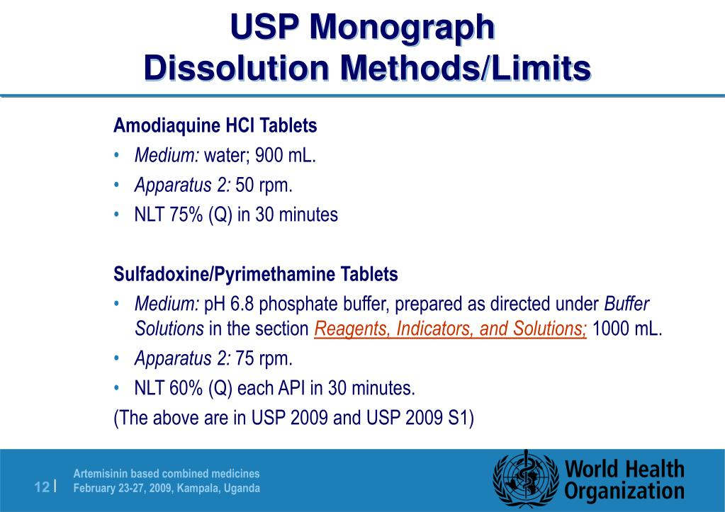 USP Monograph