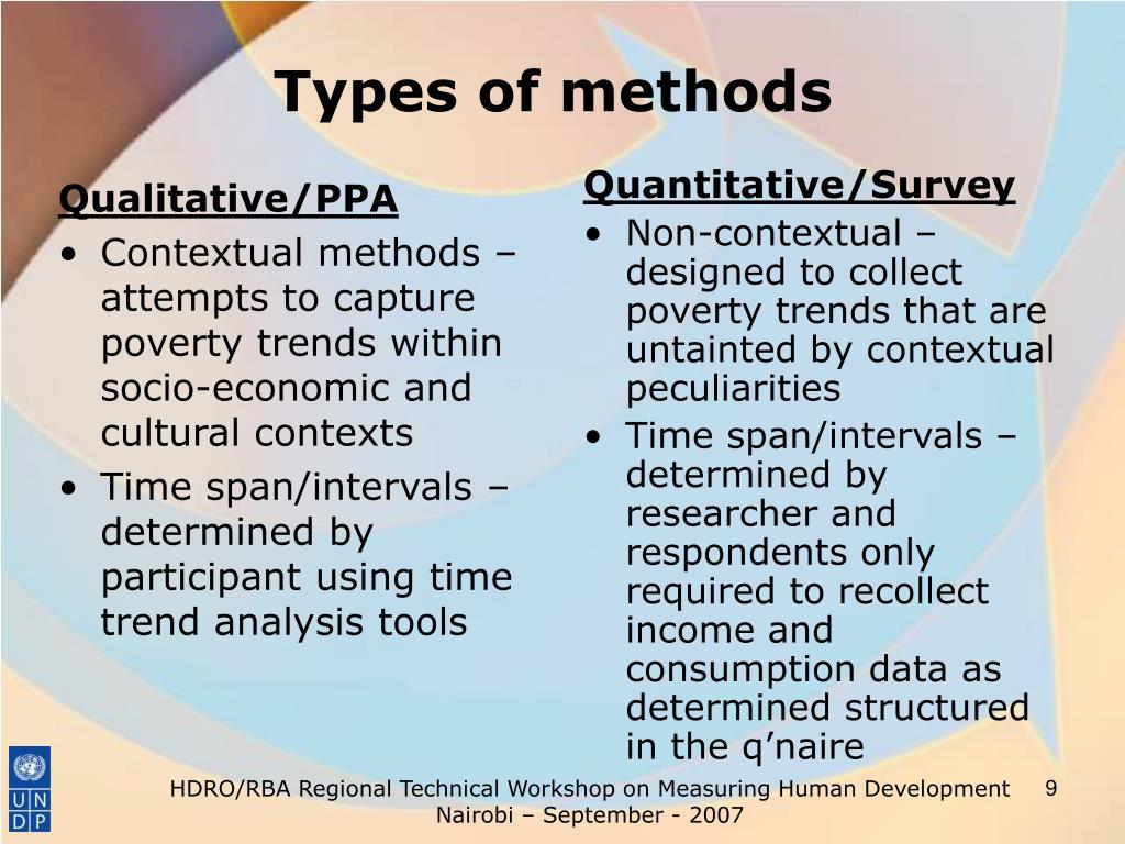 Qualitative/PPA