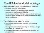 the iea tool and methodology