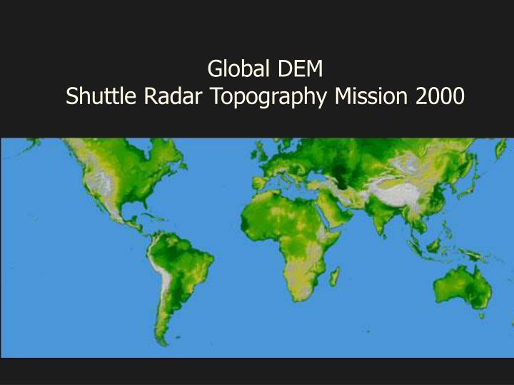 Global DEM